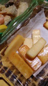チーズの燻製がおいしい!